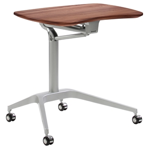 200 Series Workpad Stand Up Desk - Casters, Height Adjustable