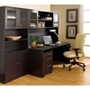 Pro X Desk and Hutch with Bookcase and Mobile Pedestal - uniq-PRO-X-COMBO-8