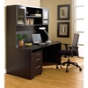 Pro X Managers Desk and Hutch with Mobile Pedestal - uniq-PRO-X-COMBO-9