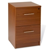 Pro X Left Crescent L-Shaped Desk with Filing Cabinet - uniq-PRO-X-COMBO-18