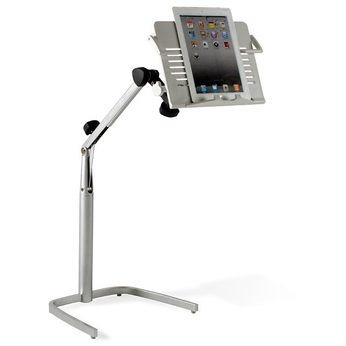Tablet Stand - Silver Base, White Top - UNIQ-X200-WH