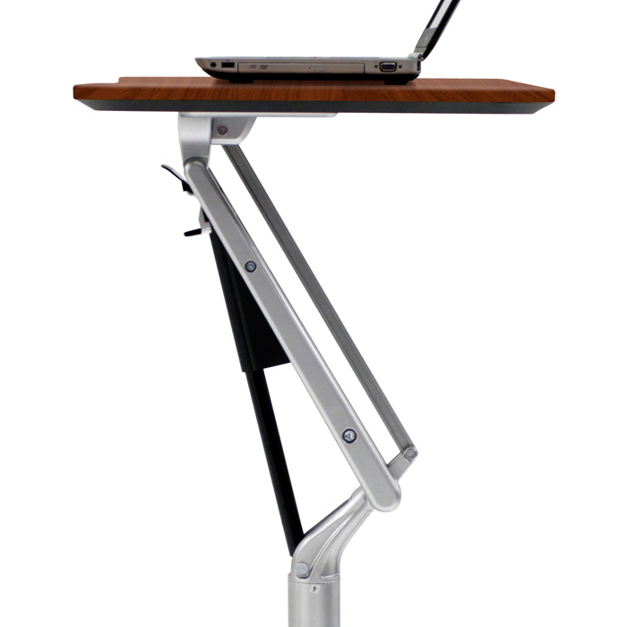 ... Adjustable Height Laptop Stand   Cherry   UNIQ X201 CH