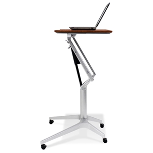 Adjustable Height Laptop Stand - Cherry