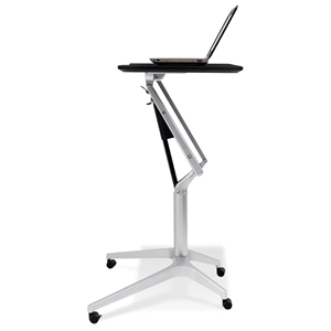 Adjustable Height Laptop Stand - Espresso