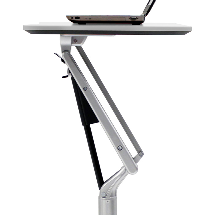 Adjustable Height Laptop Stand - White - UNIQ-X201-WH