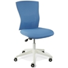 Sanne Office Chair - Blue Mesh Back & Fabric Seat - UNIQ-X5368