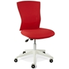 Sanne Office Chair - Red Mesh Back & Fabric Seat - UNIQ-X5369