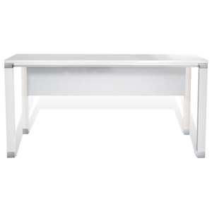 Pearl Office Work Desk in White