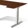 Sit & Stand Adjustable Height Desk - Cherry - UNIQ-X76532-CH