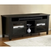 "Modern 70"" TV Cabinet - Tempered Glass Doors, Espresso - UNIQ-X985-ESP"