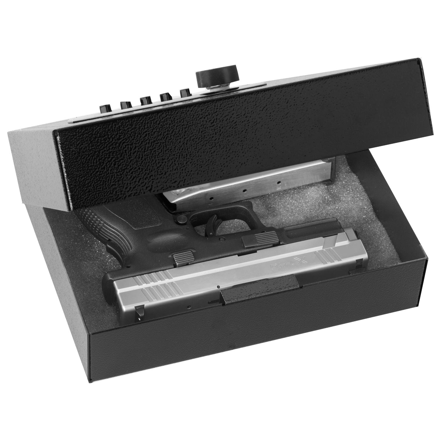 279-S Compact Security Case with Pushbutton Lock - VLN-279-S
