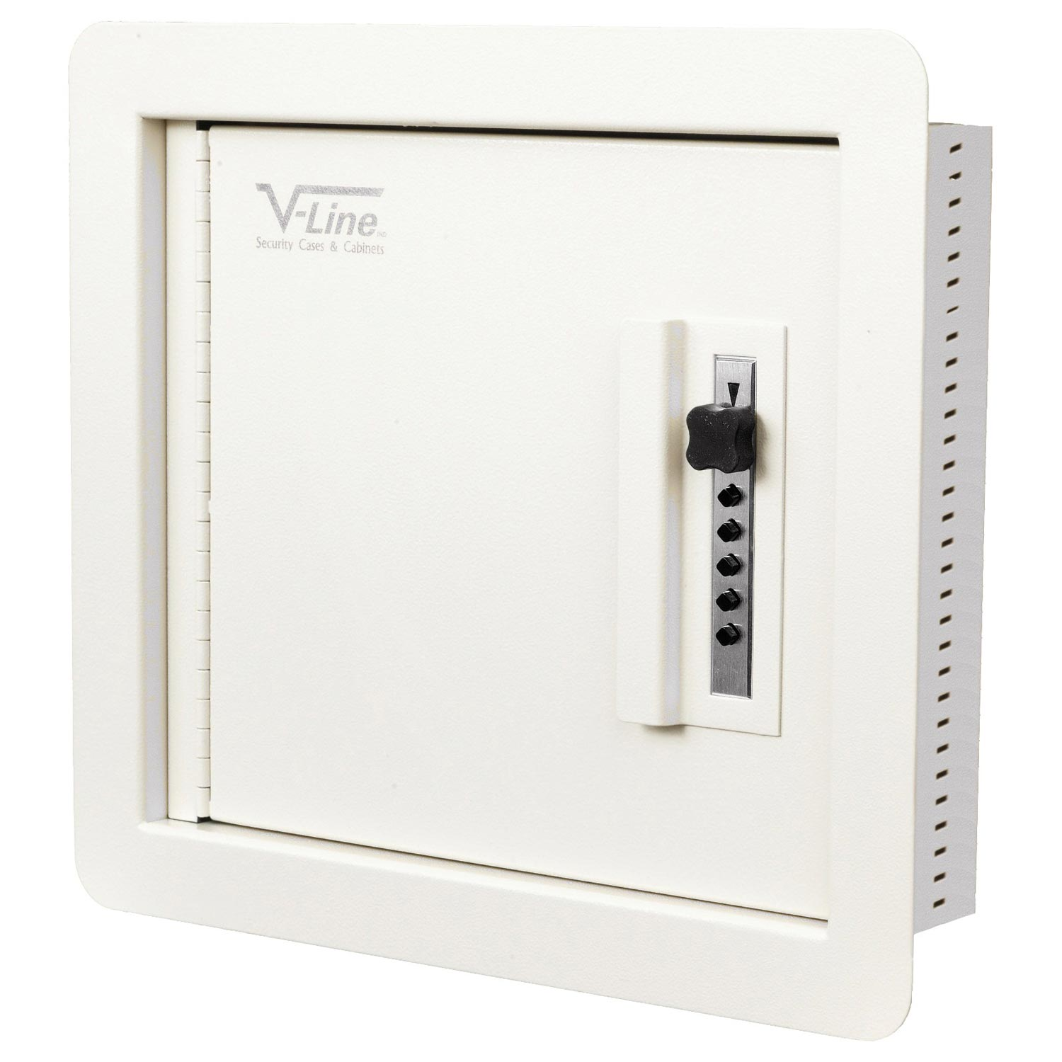 421214-S Quick Vault Wall Safe in Ivory