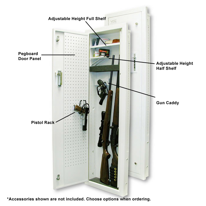 51653 SA Closet Gun Vault With Mechanical Lock   VLN 51653 SA ...