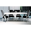 Mia White Lacquer Dining Table - VIG-208-DT