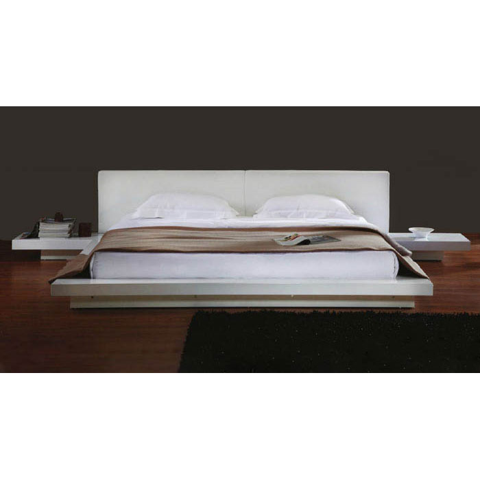 Opal Japanese Style Platform Bed with Nightstands - VIG-OPAL-BED