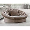 Divani Casa Cosmopolitan Sofa Chair - Beige - VIG-VG2T0618-CHAIR