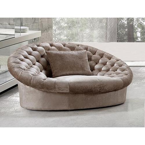 Divani Casa Cosmopolitan Sofa Chair Beige Dcg Stores
