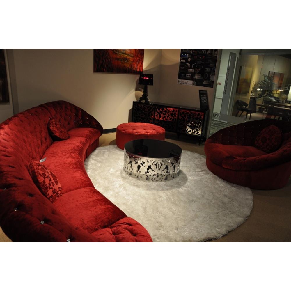 Divani Casa Cosmopolitan Mini Sectional Sofa