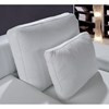 Divani Casa Clef Leather Sofa Set - White - VIG-VG2T0725