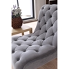 Divani Casa Phoebe Accent Chair - Tufted, Gray - VIG-VG2T0908-GRY