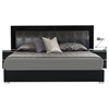 Modrest Grace Italian Modern Bedroom Set - Black | DCG Stores