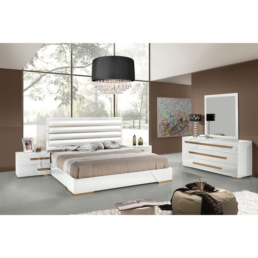 Nova Domus Juliet Italian 2 Pieces Modern Bedroom Set