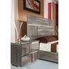 Modrest Picasso Italian Right Nightstand - 2 Drawers, Gray - VIG-VGACPICASSO-NS-GRY-R