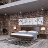 Nova Domus Conner 2 Pieces Modern Bedroom Set - Dark Walnut and ...