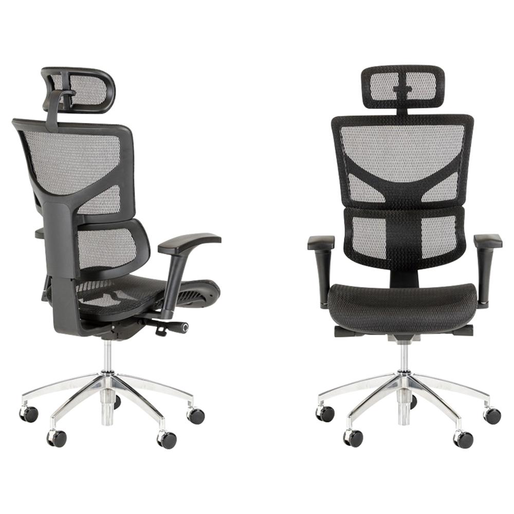 Modrest Franklin Office Chair Black Vig Vsas M01 Blk