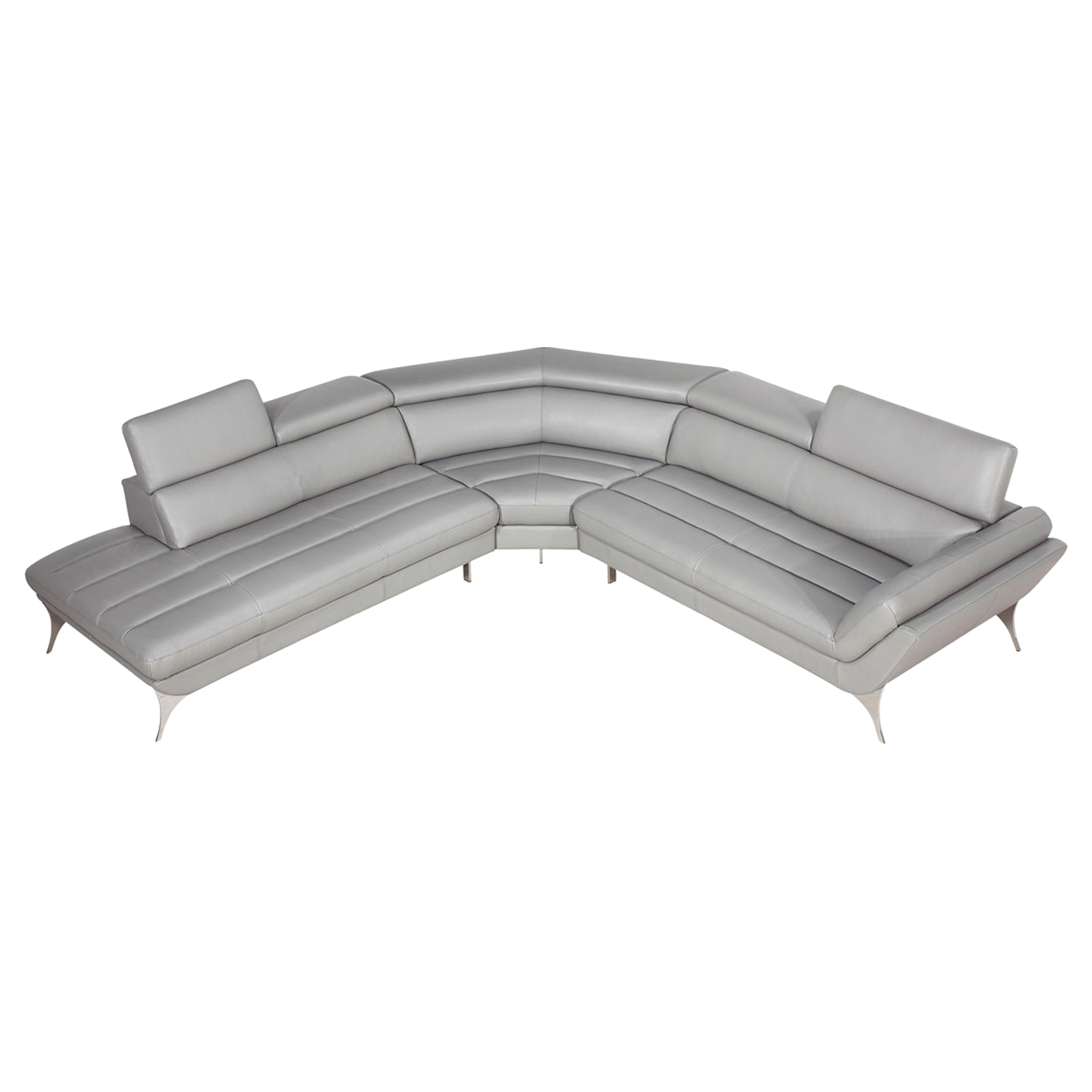Divani Casa Graphite Sectional Sofa   Gray   VIG VGCA1541 GRY ...