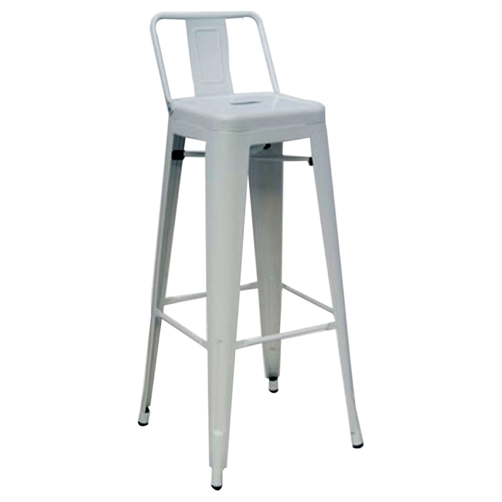 Modrest Dink Modern Metal Counter Stool White Set of 4  : vgcbt5825 wht from www.dcgstores.com size 1000 x 1000 jpeg 102kB
