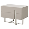Modrest Voco Modern Nightstand - Gray, 2 Drawers - VIG-VGCN1302H-GRY