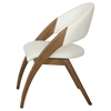 Modrest Lucas Dining Chair - Cream, Walnut - VIG-VGCSCH-16029-CRM
