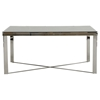 Modrest Santiago Rectangular Dining Table - Gray - VIG-VGEWF2193AB
