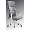 Modrest Ellison Modern High Back Office Chair - Gray