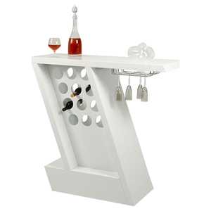 Modrest Zin Bar Unit - White