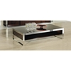 Modrest Noble Modern Rectangular Coffee Table - Ebony Lacquer - VIG-VGHB131D