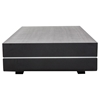 Modrest Cave Modern Rectangular Coffee Table - Black Oak - VIG-VGHB680D