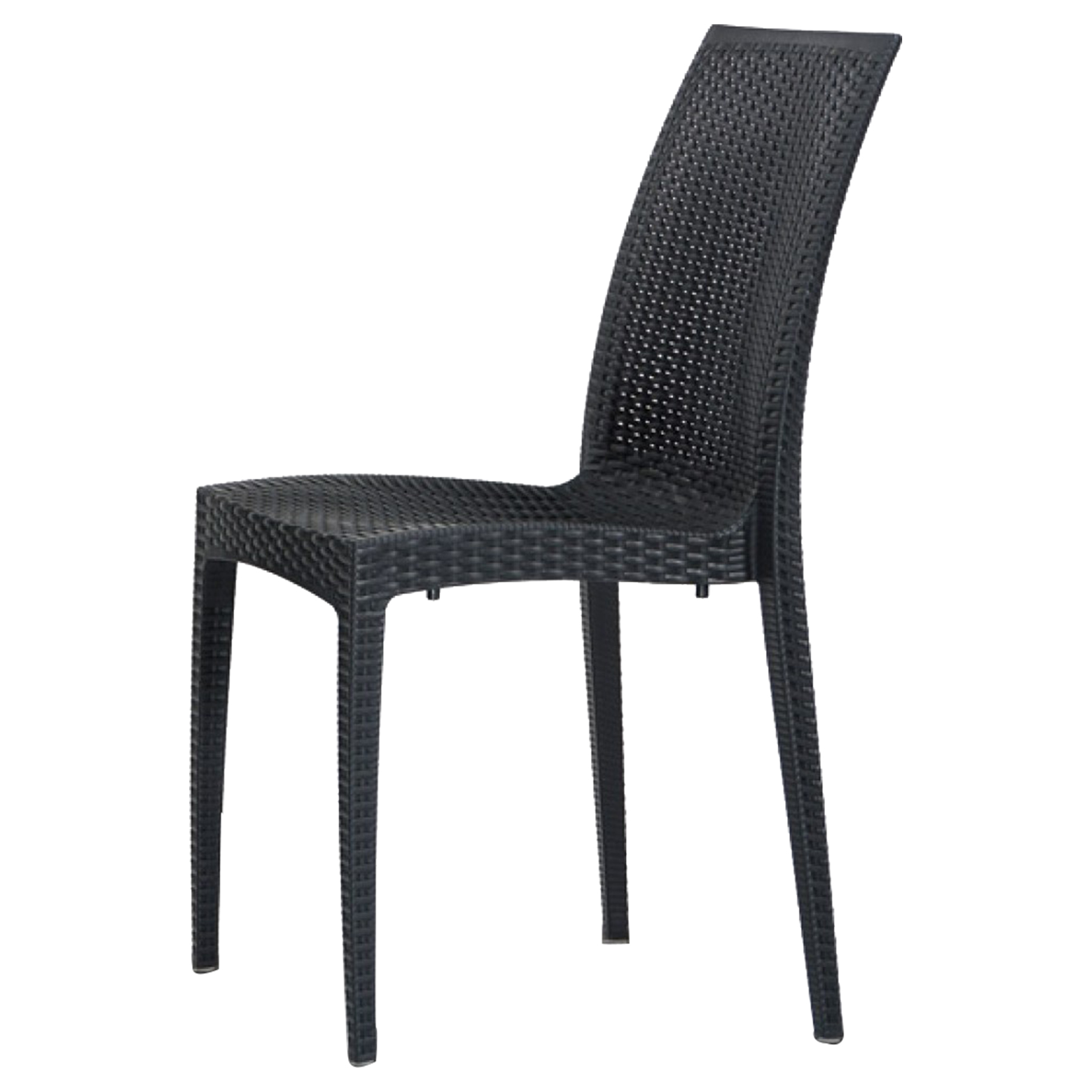 gallery of renava bistrot modern patio dining chair charcoal with chaise bistrot but. Black Bedroom Furniture Sets. Home Design Ideas