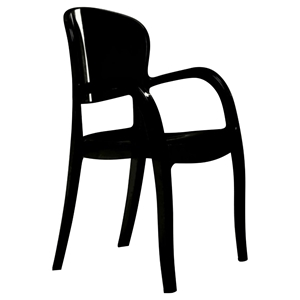 Modrest Temptress Dining Chair - Black