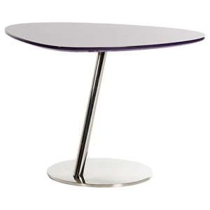 Modrest Modern End Table - Purple
