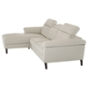 Divani Casa Edelweiss Sectional Sofa - Light Gray - VIG-VGKKKT018-GRY