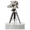 Modrest Avedon Table Lamp - Chrome and Black - VIG-VGKRKM015A