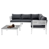 Renava Anafi Outdoor Sectional Sofa Set - Dark Gray - VIG-VGMNANAFI