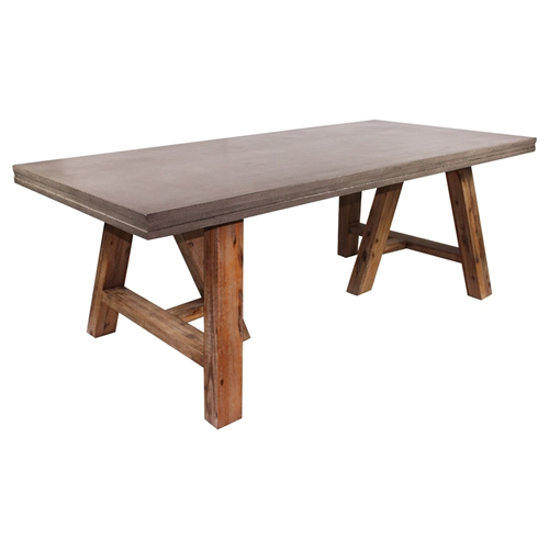 The Foundry Ii Cafe Rollins Dining Table Art Furniture: Modrest Civic Modern Rectangular Dining Table
