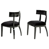 A&X Dining Chair - Black (Set of 2) - VIG-VGUNAA032