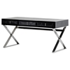 A&X Congress Transitional Desk - Black Crocodile - VIG-VGUNAS706-150-BLK