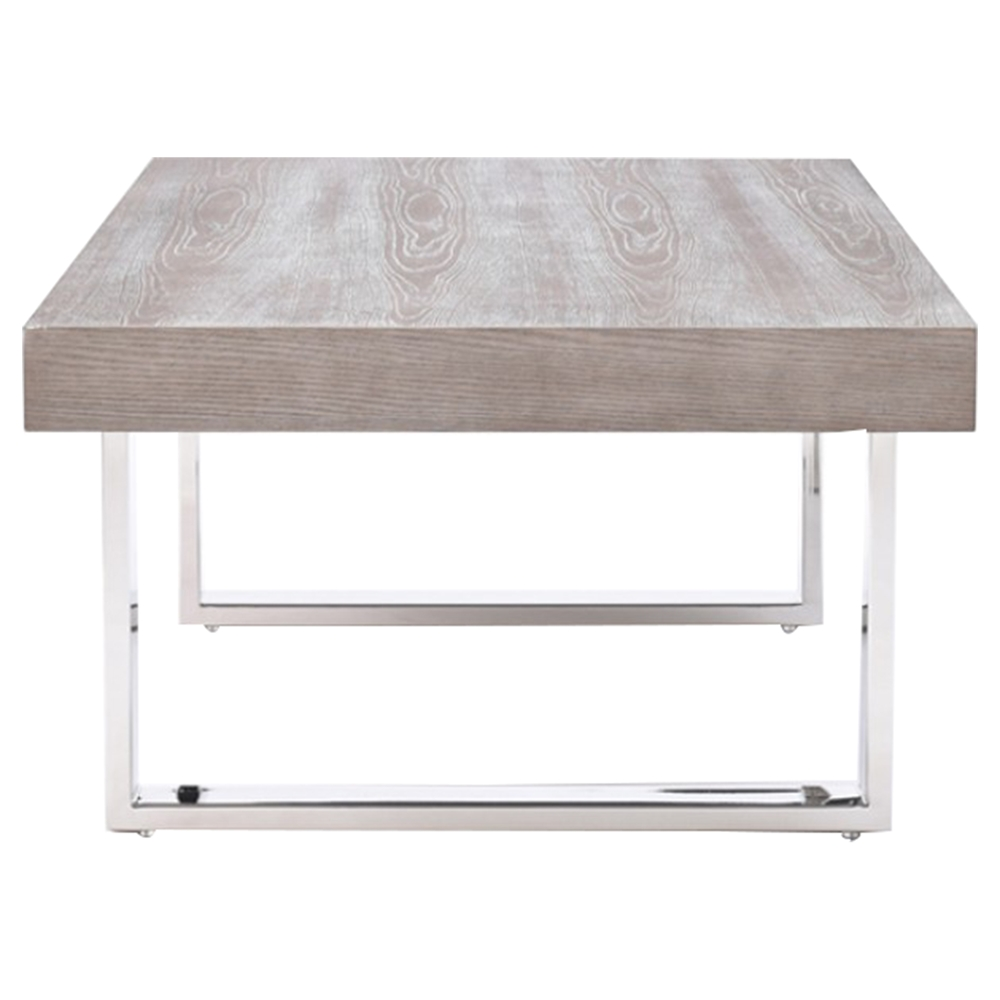 Lola Coffee Table With Storage: Modrest Lola Coffee Table - Gray