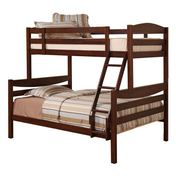 Royalton Twin / Double Size Bunk Bed in Brown - WAL-BWTODWB