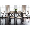 Urban Reclamation Deluxe Dining Chair - Antique Black (Set of 2) - WAL-CWM2MDX
